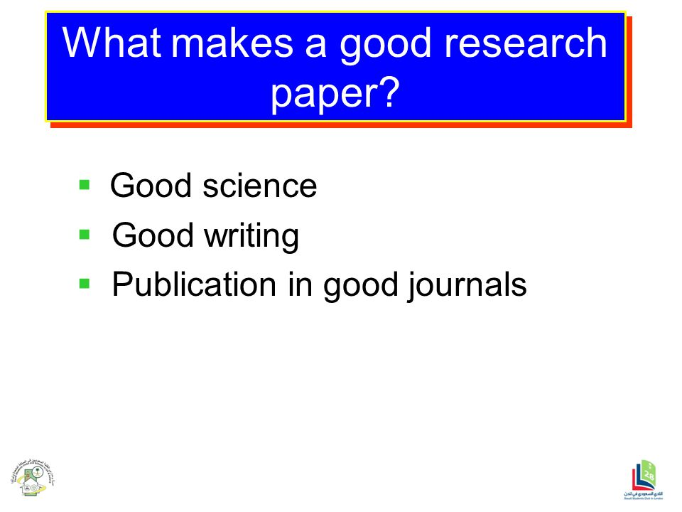 Not just another research paper writing service