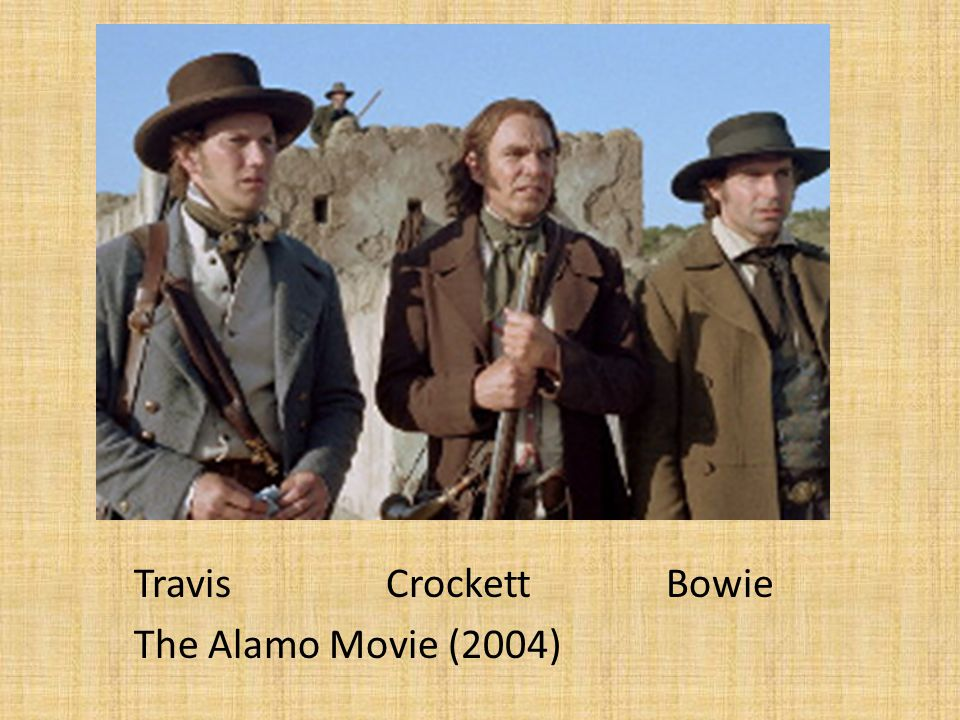 Travis Crockett Bowie The Alamo Movie (2004)