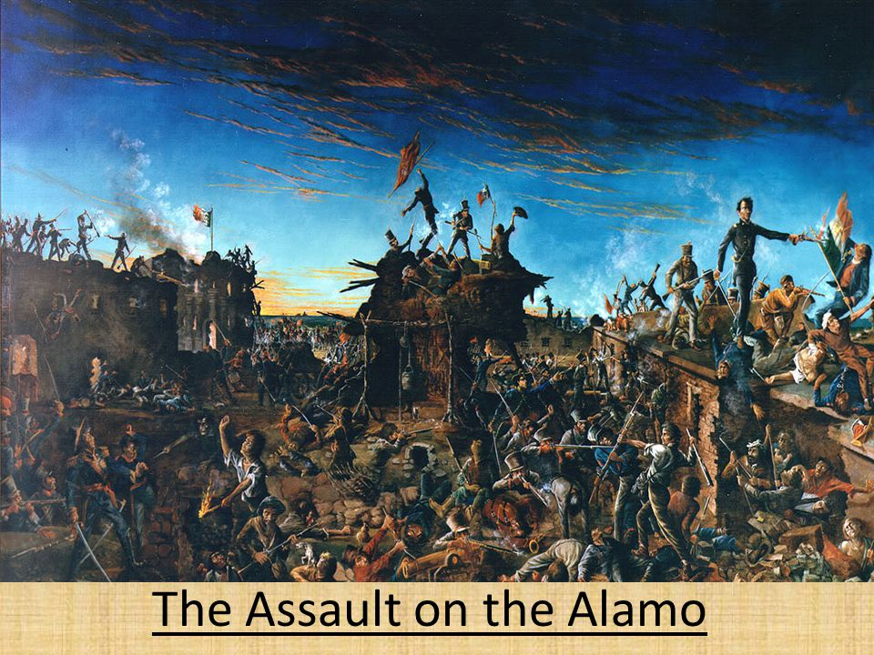 The Assault on the Alamo