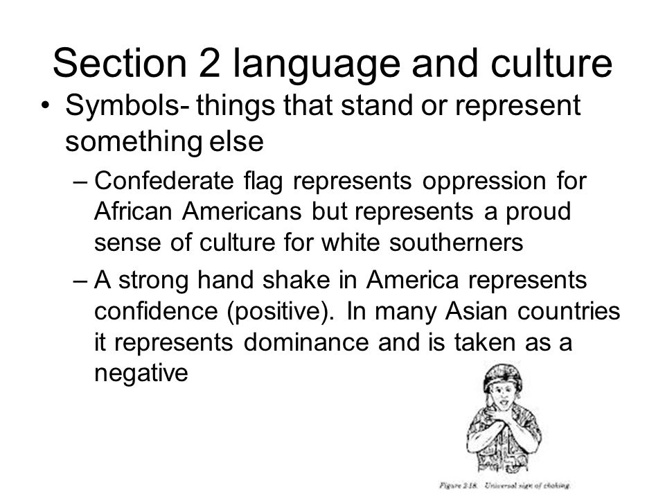 Section 2 language and culture