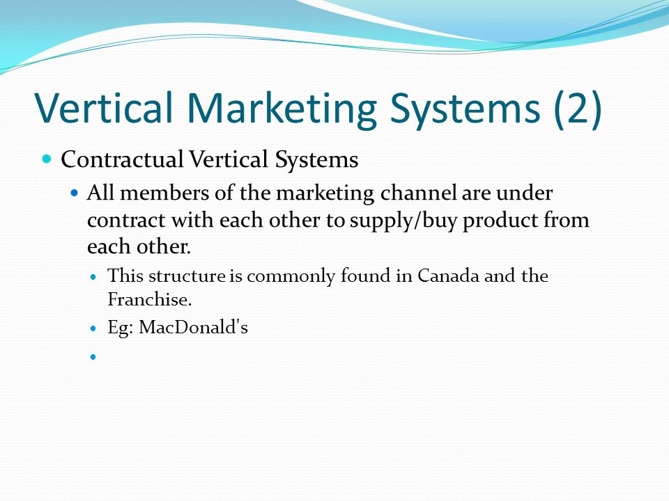 Vertical Marketing Systems (2)