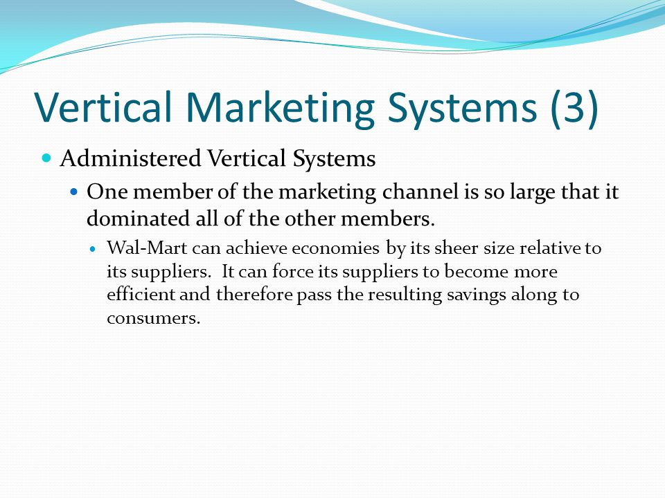 Vertical Marketing Systems (3)