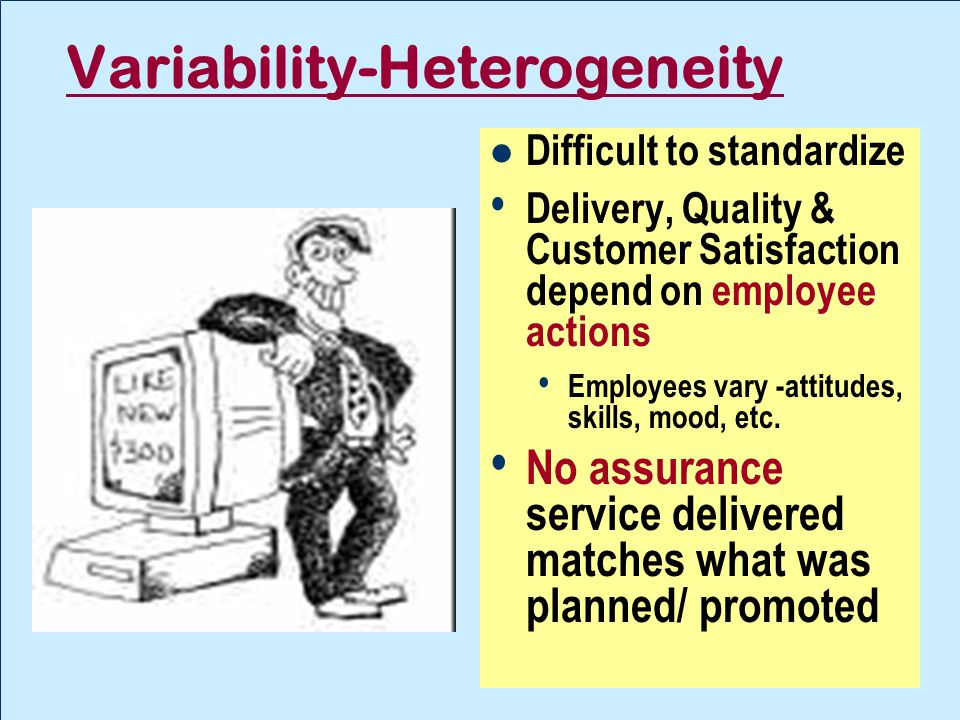 Variability-Heterogeneity