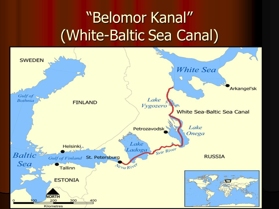 Belomor Kanal (White-Baltic Sea Canal)