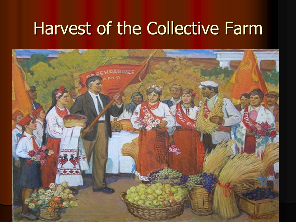 Harvest of the Collective Farm