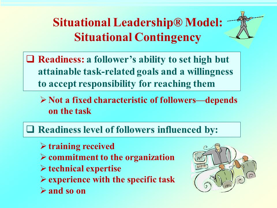 Situational Leadership® Model: Situational Contingency