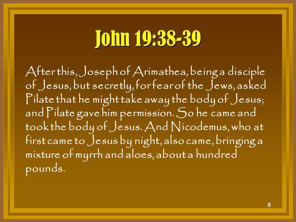 John 19:38-39
