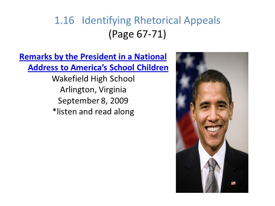 1.16 Identifying Rhetorical Appeals (Page 67-71)