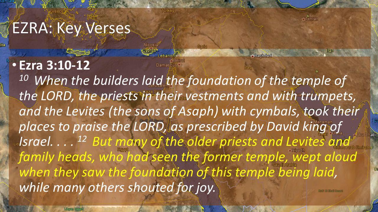 EZRA: Key Verses