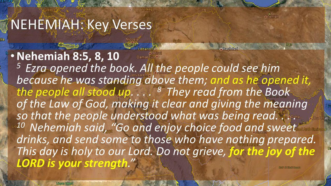 NEHEMIAH: Key Verses
