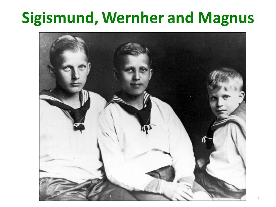 Sigismund, Wernher and Magnus