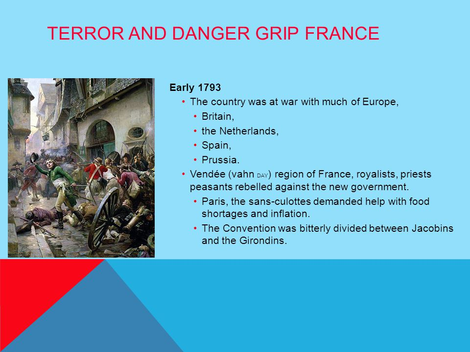 Terror and Danger Grip France