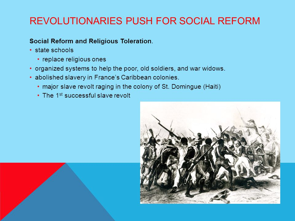 Revolutionaries Push For Social Reform