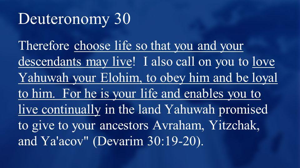 Deuteronomy 30