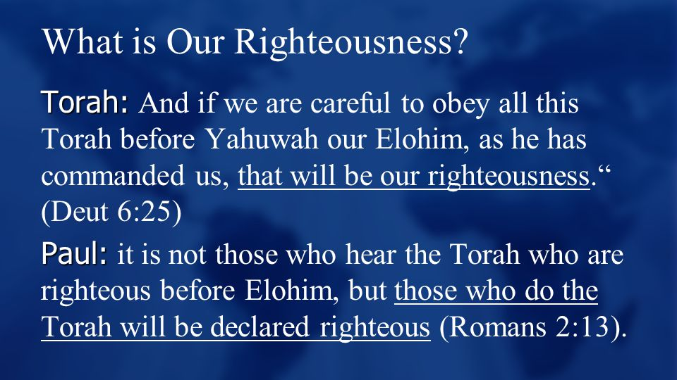 What is Our Righteousness