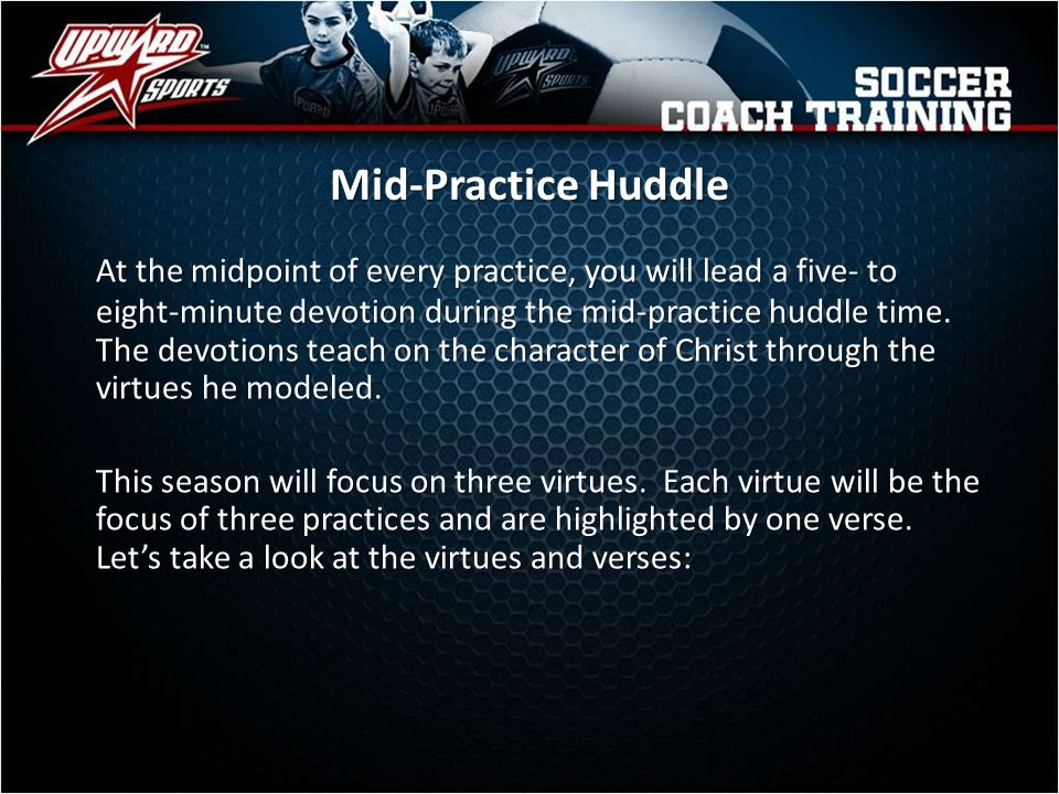 Mid-Practice Huddle