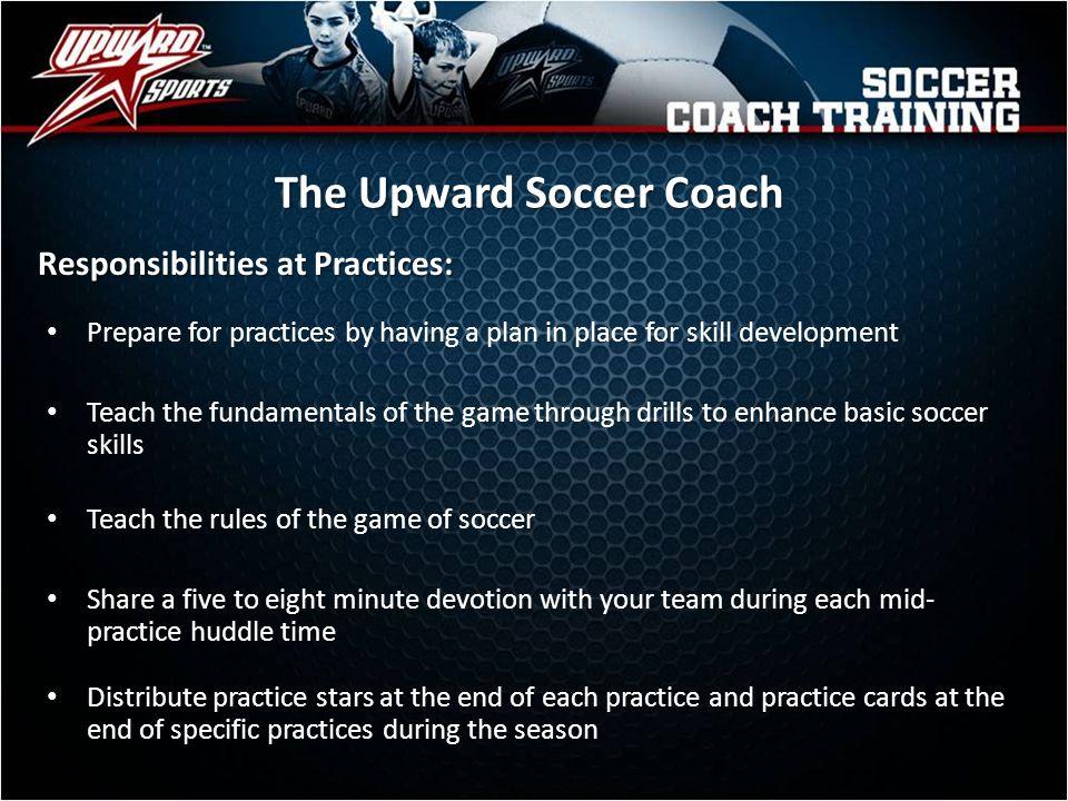The Upward Soccer Coach