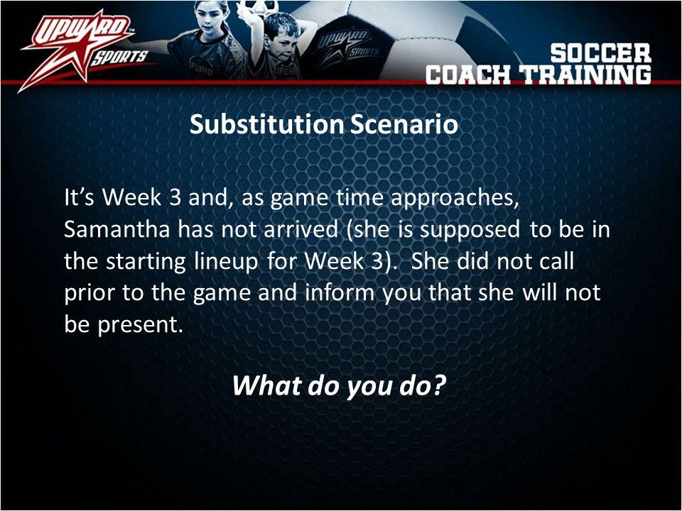 Substitution Scenario