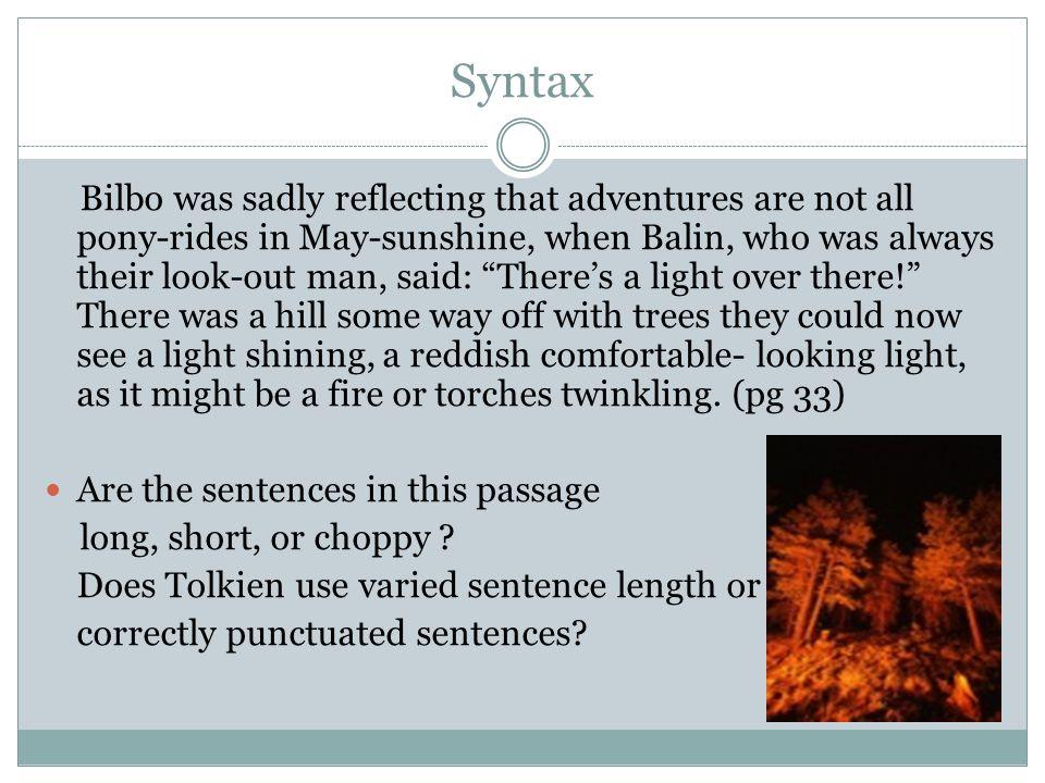 Syntax