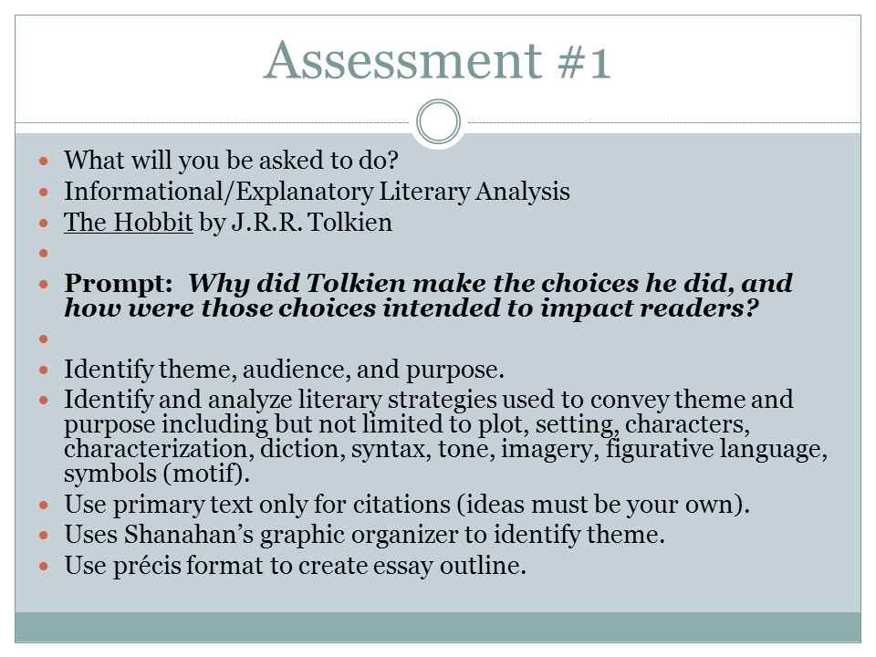 the hobbit by j r r tolkien ppt  46 assessment