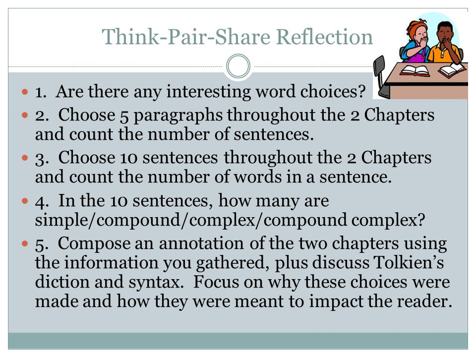 Think-Pair-Share Reflection