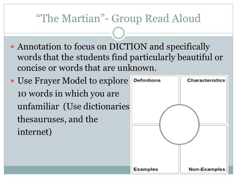 The Martian - Group Read Aloud
