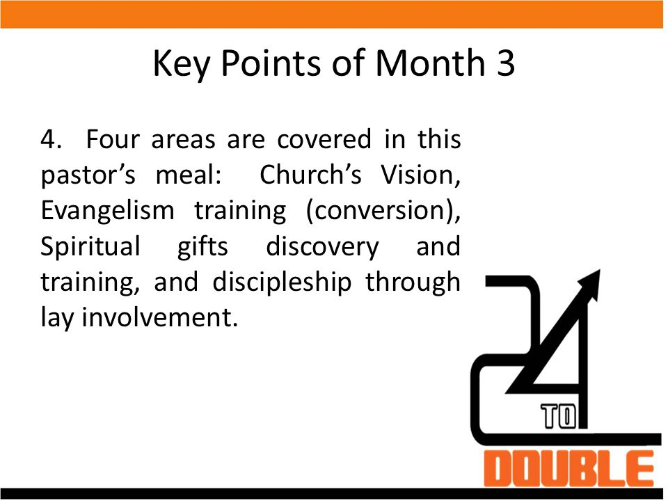 Key Points of Month 3