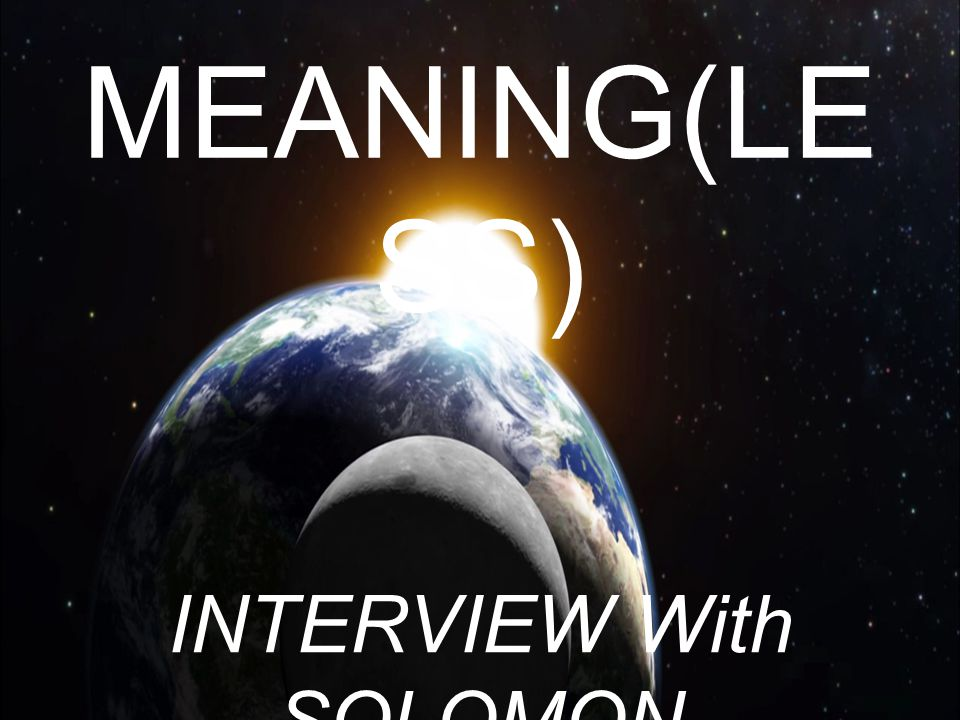 INTERVIEW With SOLOMON