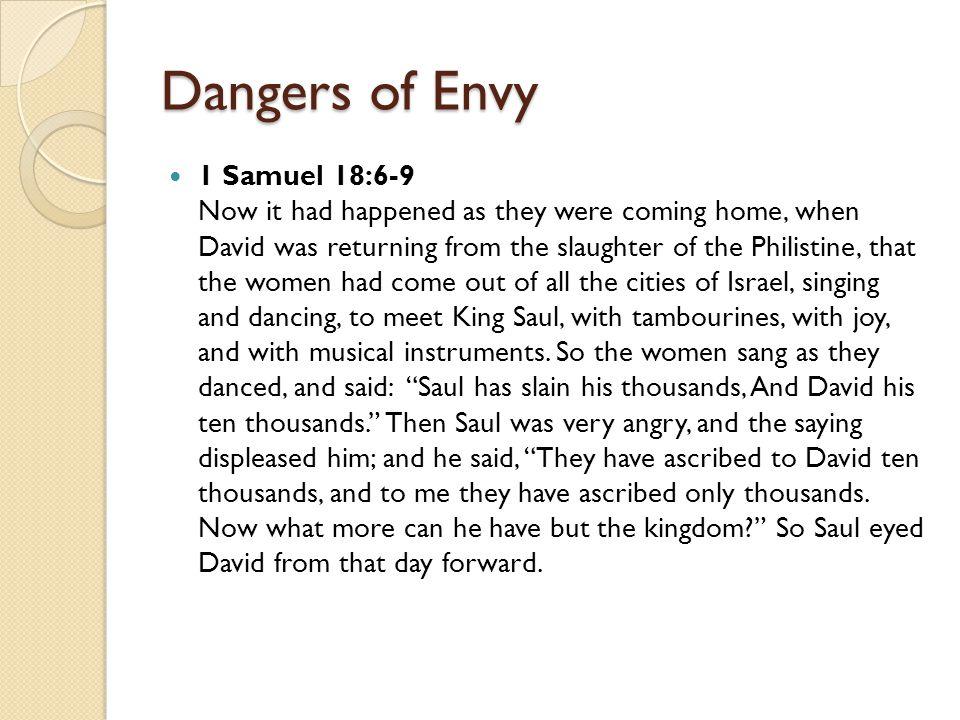 Dangers of Envy