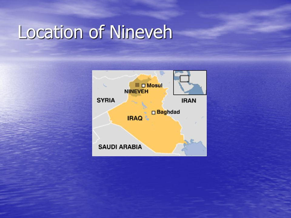 Location of Nineveh
