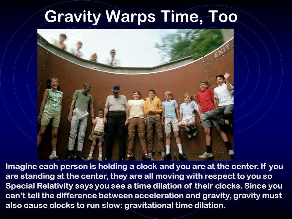 Gravity Warps Time, Too