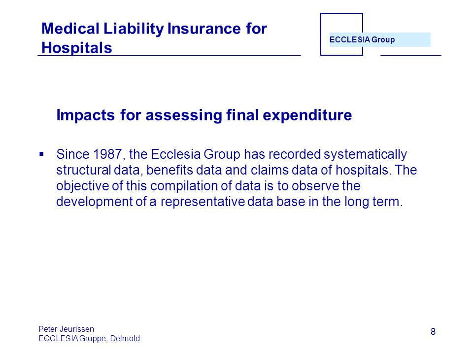 Medical Liability Insurance for Hospitals