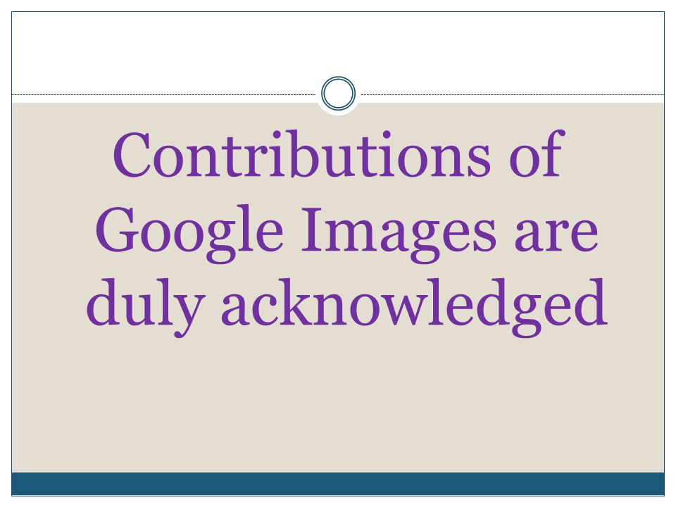 Contributions of Google Images are duly acknowledged