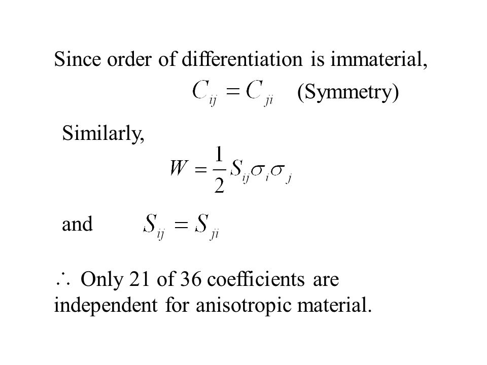 Since order of differentiation is immaterial,