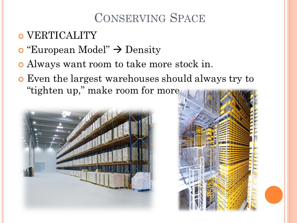 Conserving Space VERTICALITY European Model  Density