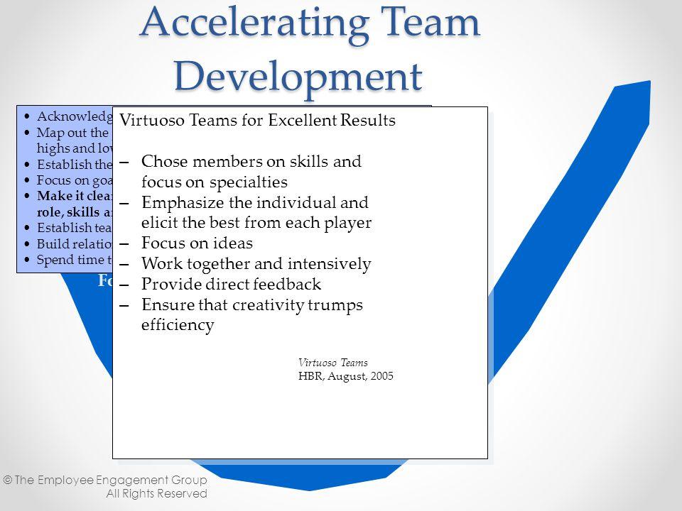 Accelerating Team Development