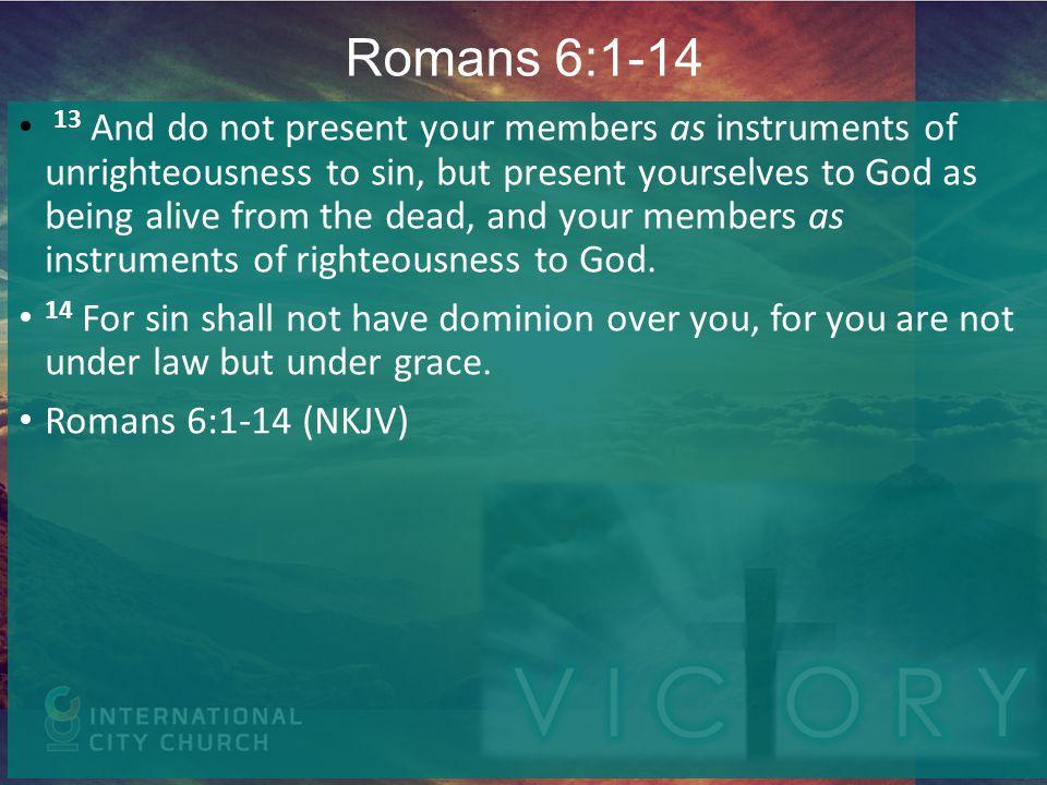 Romans 6:1-14