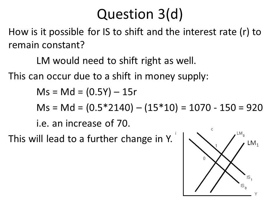 Question 3(d)
