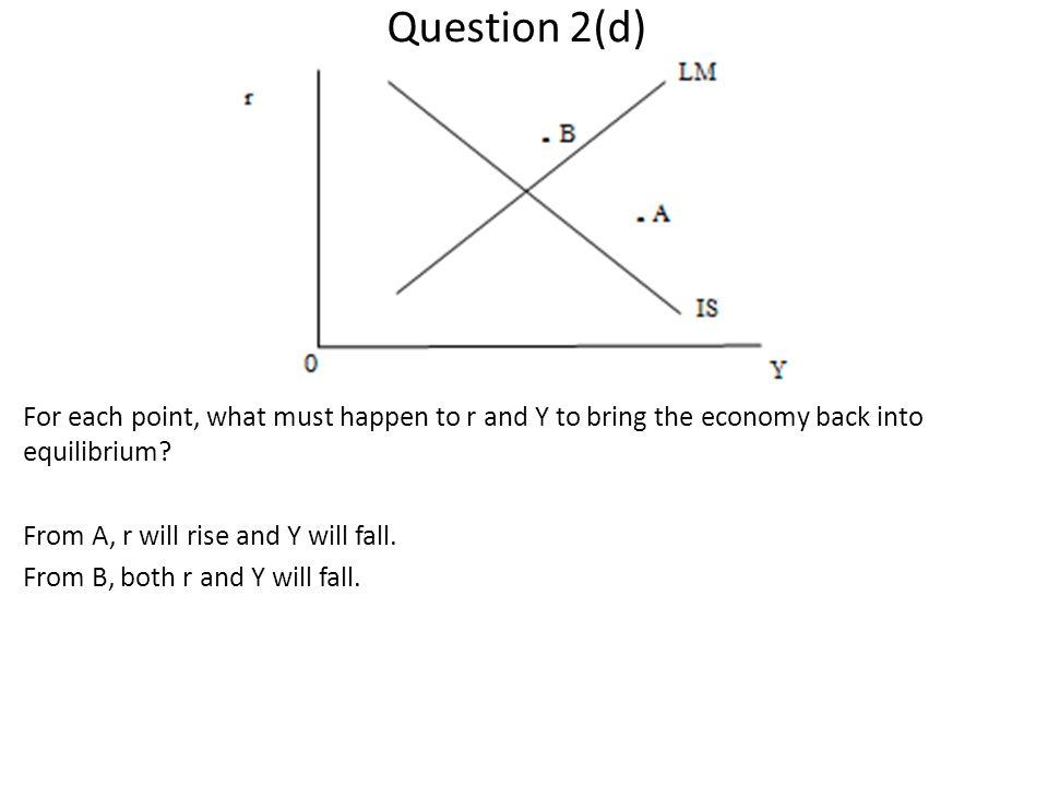 Question 2(d)