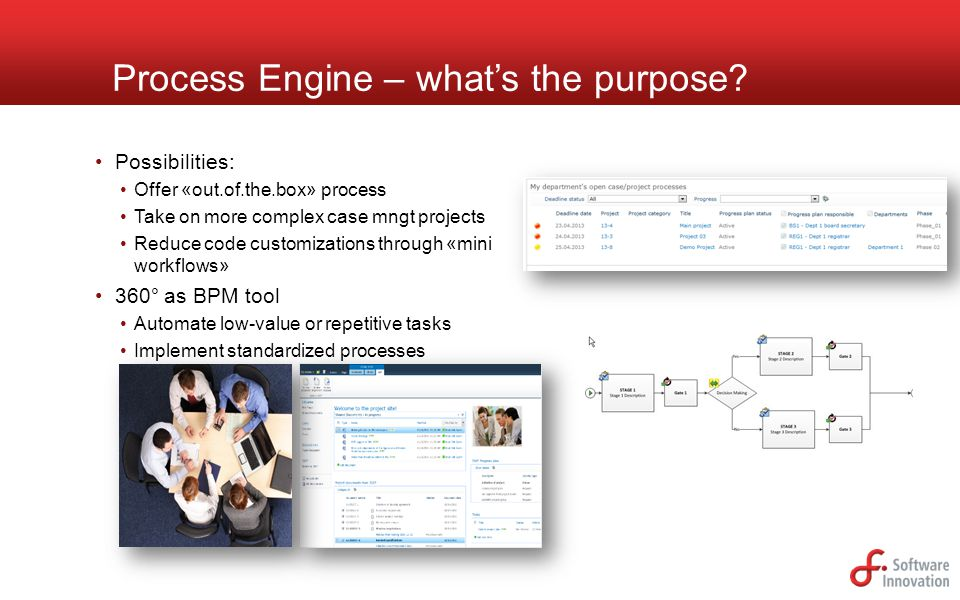 Process Engine – what's the purpose
