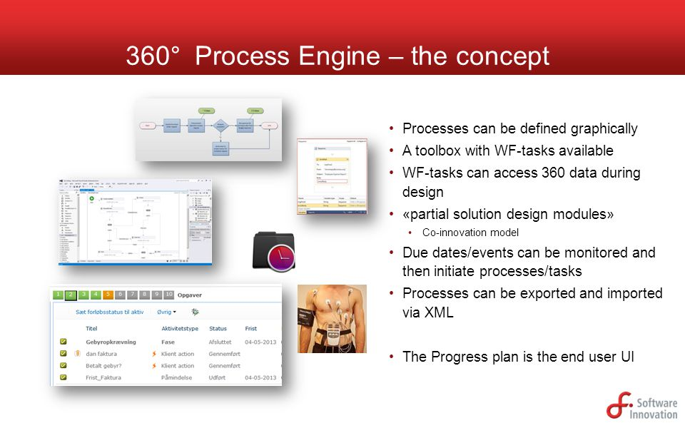 360° Process Engine – the concept