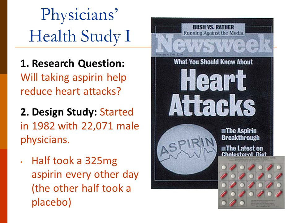 Physicians' Health Study I
