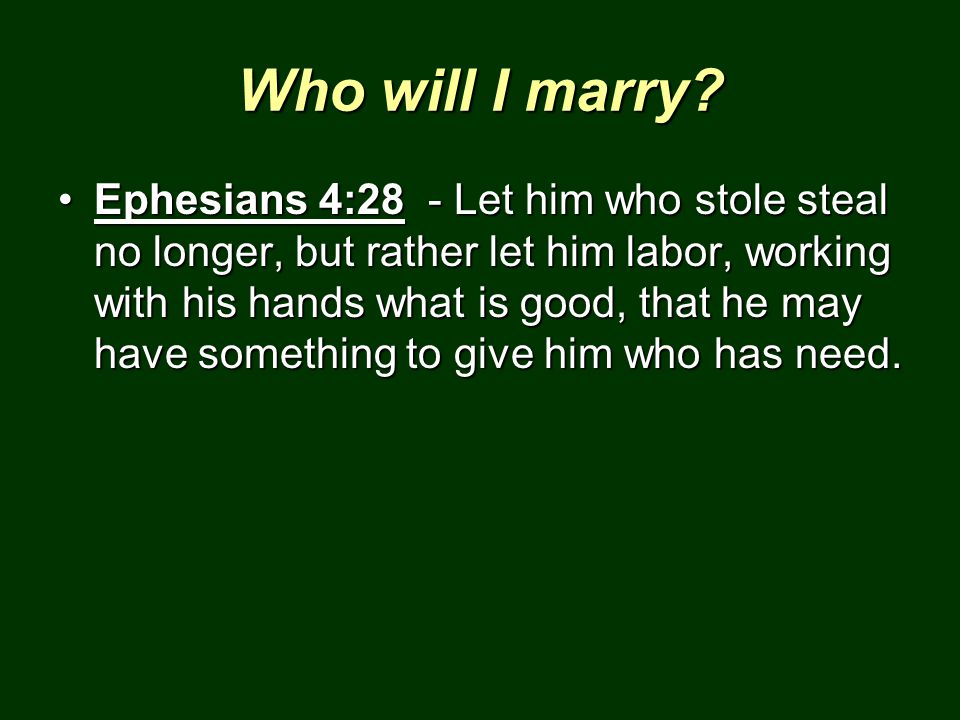 Who will I marry