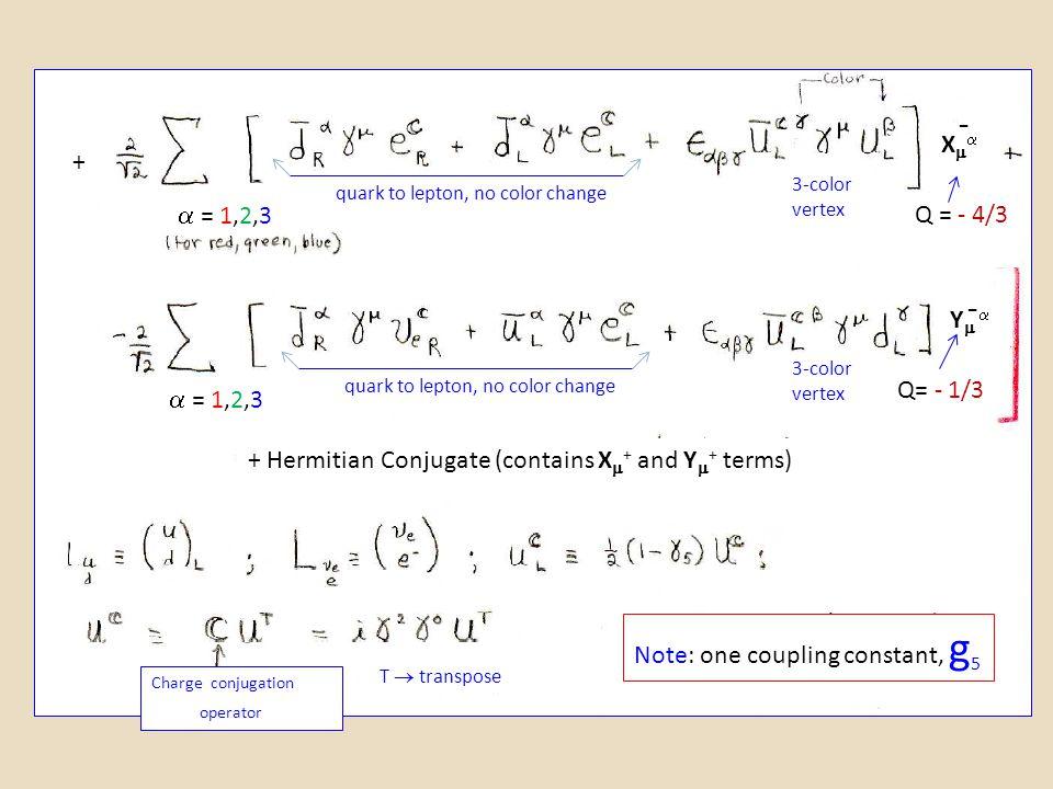 - - X +  = 1,2,3 Q = - 4/3 Y  Q= - 1/3  = 1,2,3