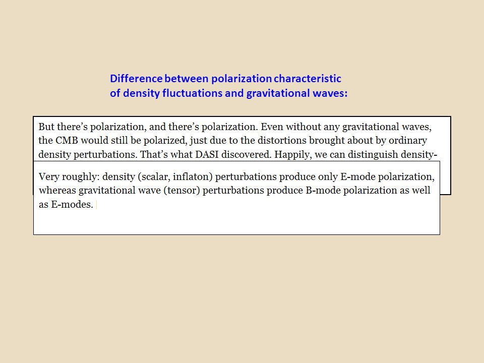 Difference between polarization characteristic
