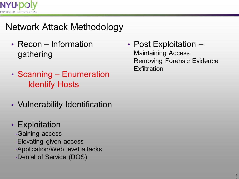 Network Attack Methodology