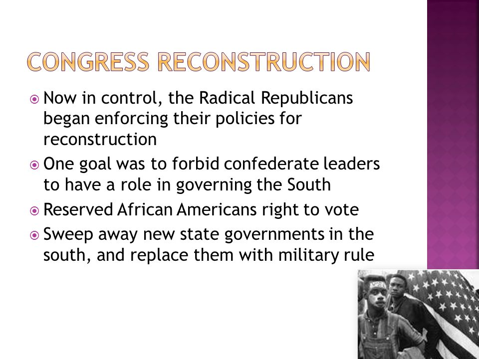 Congress Reconstruction