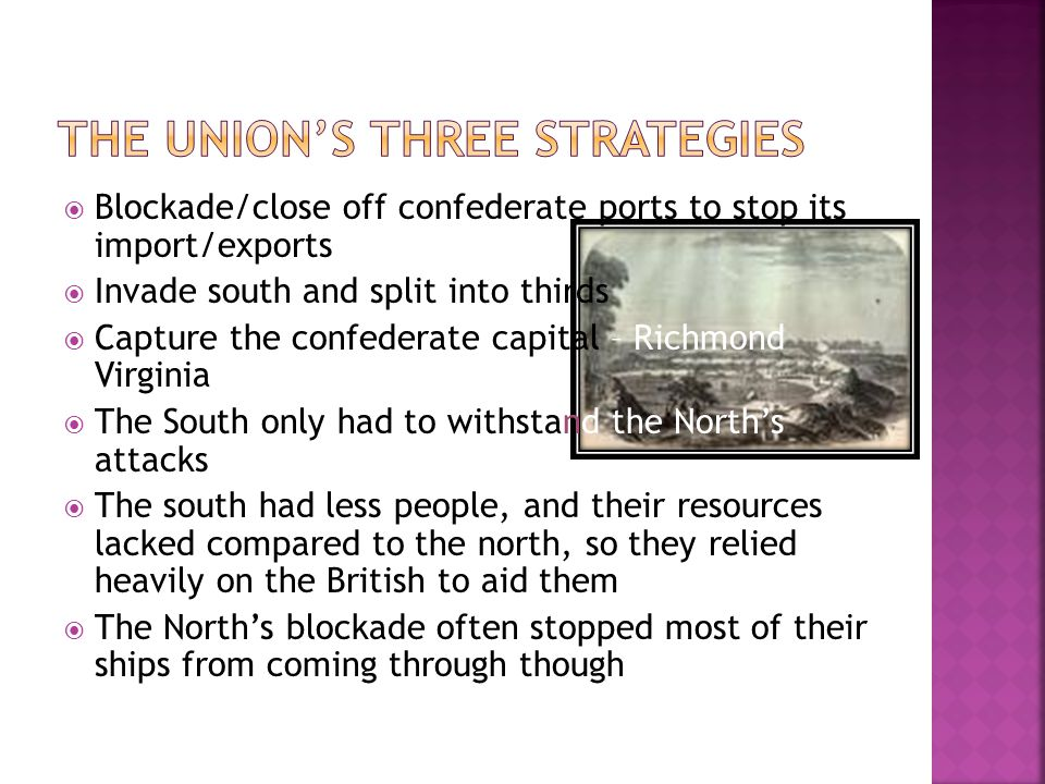 The Union's three Strategies