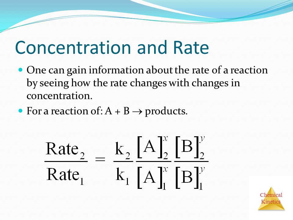 Concentration and Rate