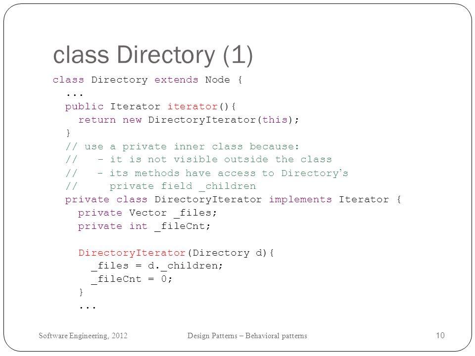 class Directory (1)